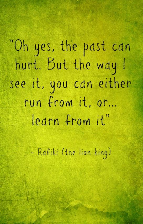 Lion King Lessons :)