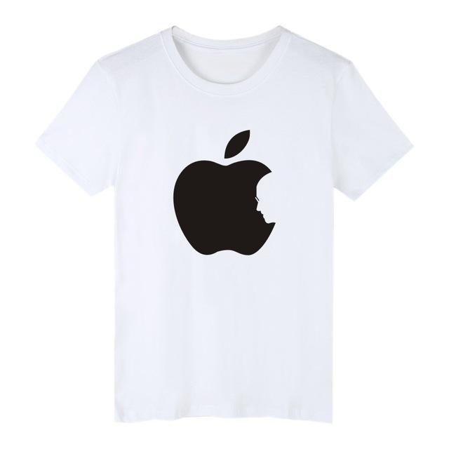Apple Steve Jobs Cotton T Shirt
