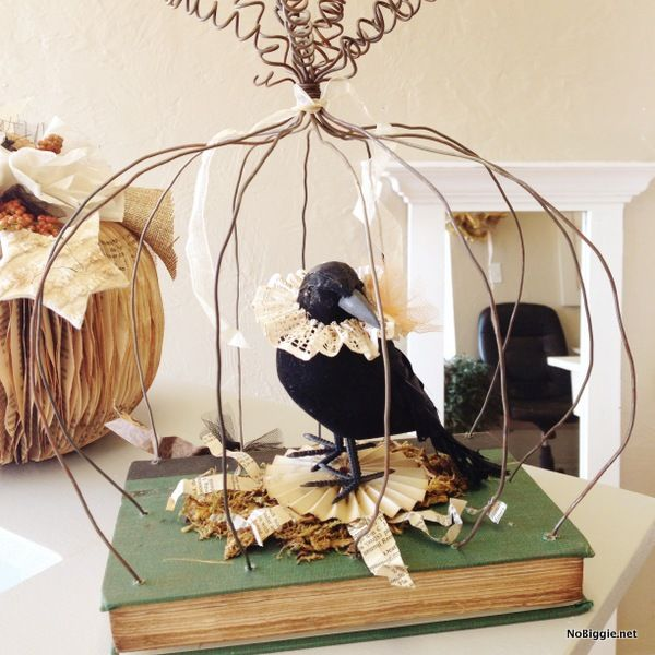 Vintage inspired Halloween craft #BabyCenterBlog