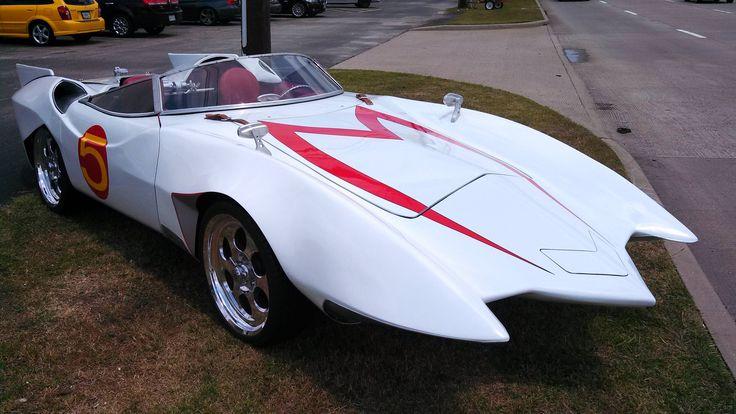 Mach 5 (2001 Corvette modified by Gotham Garage) Speed