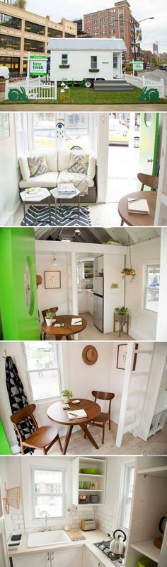 A tiny house built in NYC in just 72 hours by 10 people!