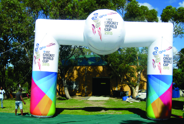 ICC cricket World Cup Inflatable Arch