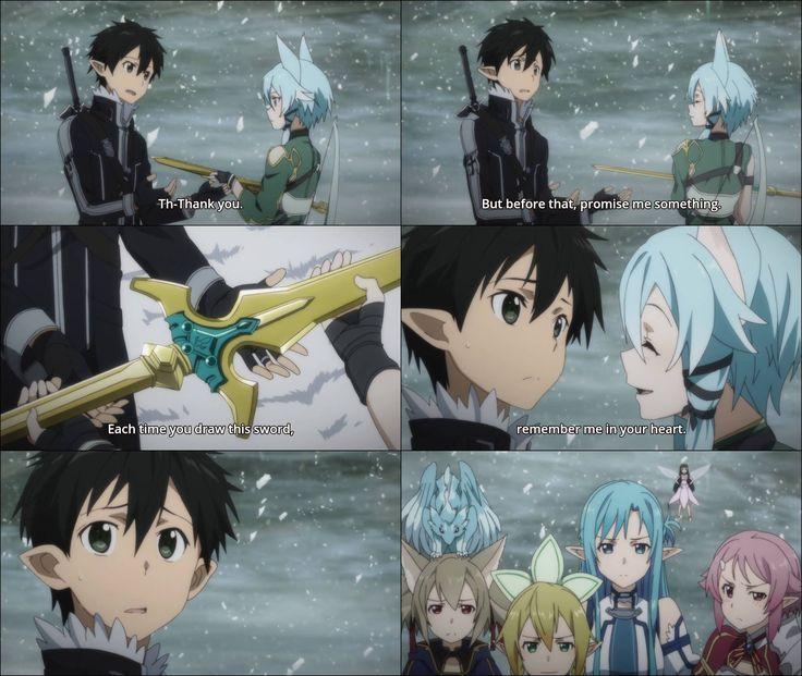 Sinon, You Are My Favorite Ship, But You Make Kirito Look