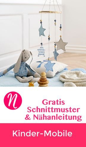 Sterne Mobile Fur Kinder Aus Stoff Nahen Kids Pinterest Sewing
