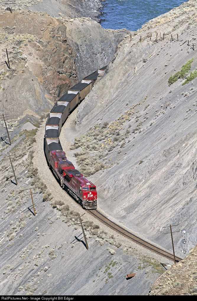 RailPictures.Net Photo: CP 8904 Canadian Pacific Railway GE ES44AC at Ashcroft, British Columbia, Canada by Bill Edgar