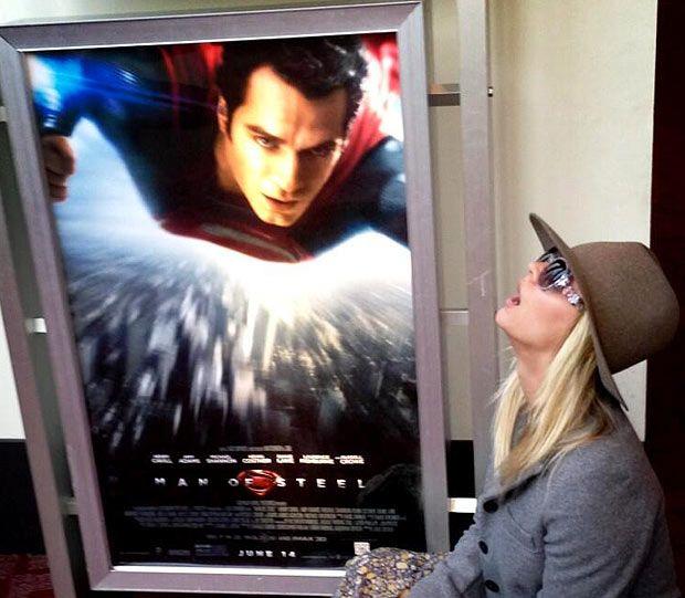 Superman dating big bang