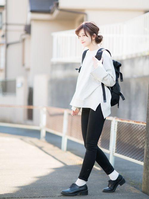 レトロガール ビッグスウェット ¥1590 size:M ⭐︎本日LINEブログでレビュー予定! ユ