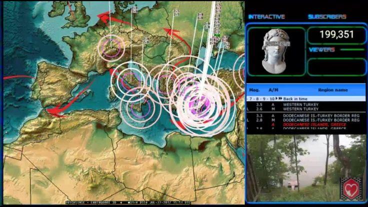 7/27/17 10:45am earthquake update dutchsinse
