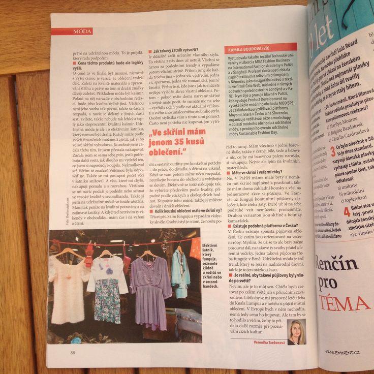 Rozhovor v magazínu Téma...pokračování