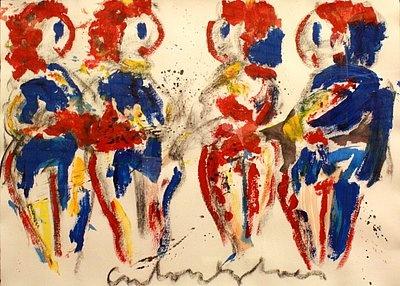 'Vier Bruiden' (Four Brides) by Anton Heijboer