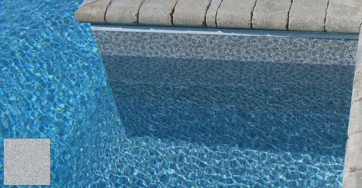 Grey Pool Liner Grey Granite Deck Pinterest