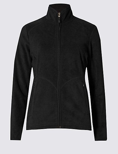 Anti Bobble Fleece Jacket | M&S