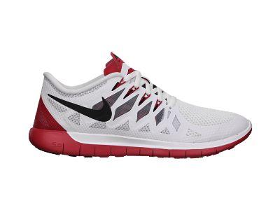 Nike Free 5.0 - White & Red Fusion