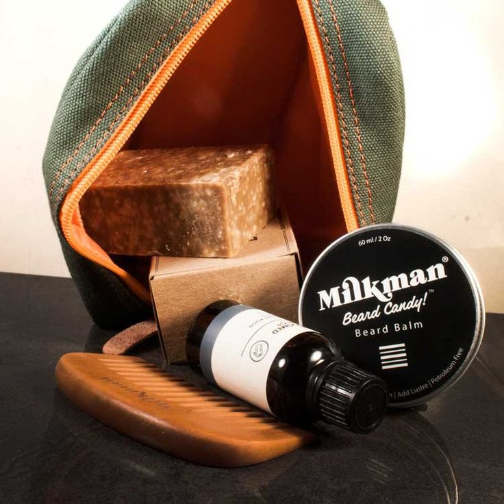 The Essential Beard Care Tool Kit from Worthy and Spruce
