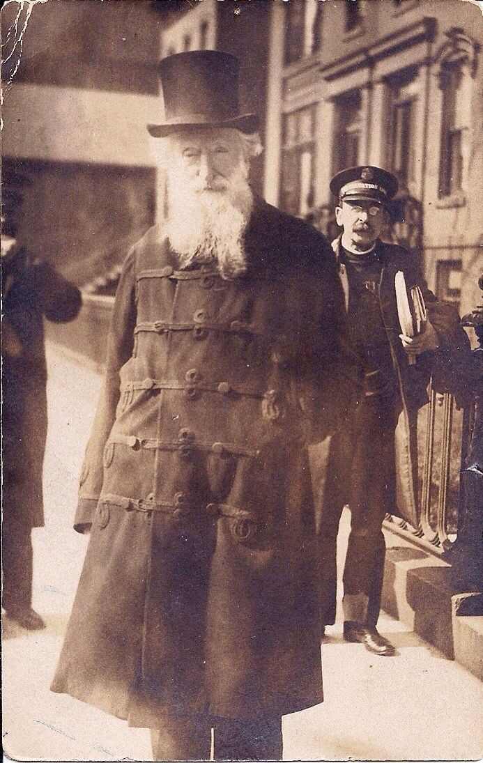 General booth and commissioner Coombs
