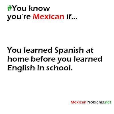 Mexicans Know #9429 - Mexican Problems