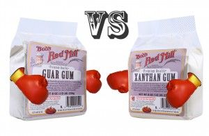 A quick guide for gluten free baking and cooking: Xanthan Gum vs. Guar Gum