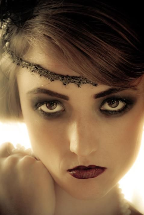 1920's Makeup LOVE GREAT GLAM  All For Mary - Redefining the salon experience www.allformary.com