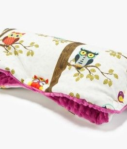 Warm hand muffs for puschair birds by AM with raspberry