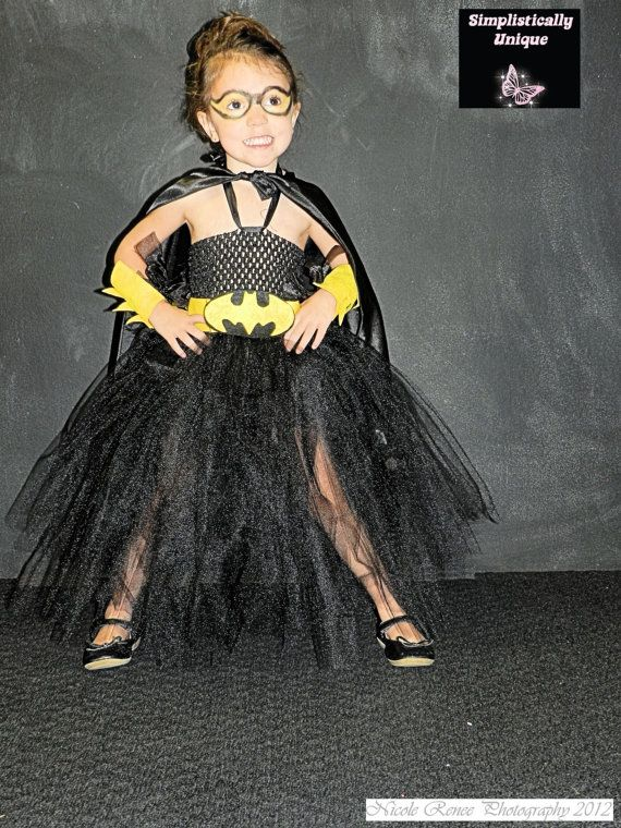 Batman Tutu Costume by SimplisticallyUnique on Etsy, $40.00