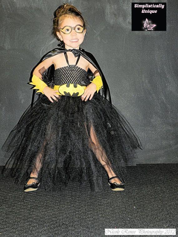 Batman Tutu Costume by SimplisticallyUnique on Etsy, $60.00