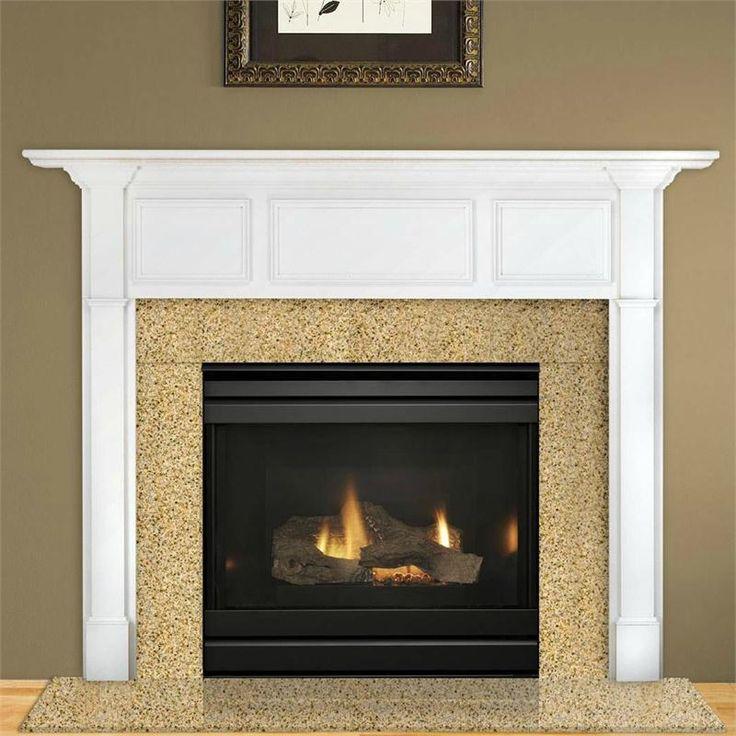 dv3732sbi gas fireplace - Moderner Kamin Umgibt Kaminsimse