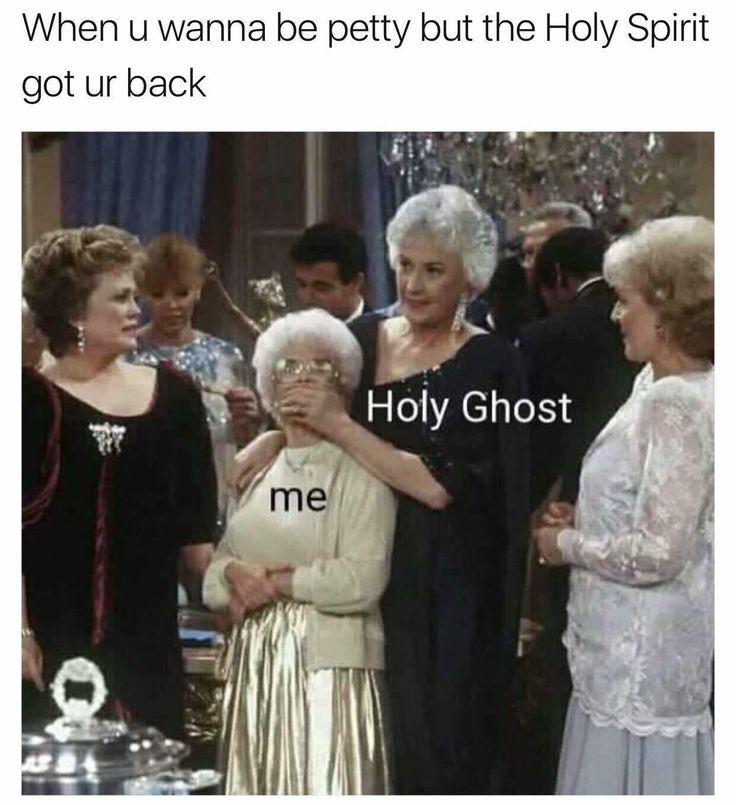When the Holy Spirit got your back http://ibeebz.com