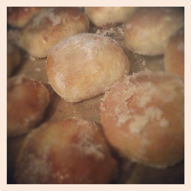 Mince pie donuts