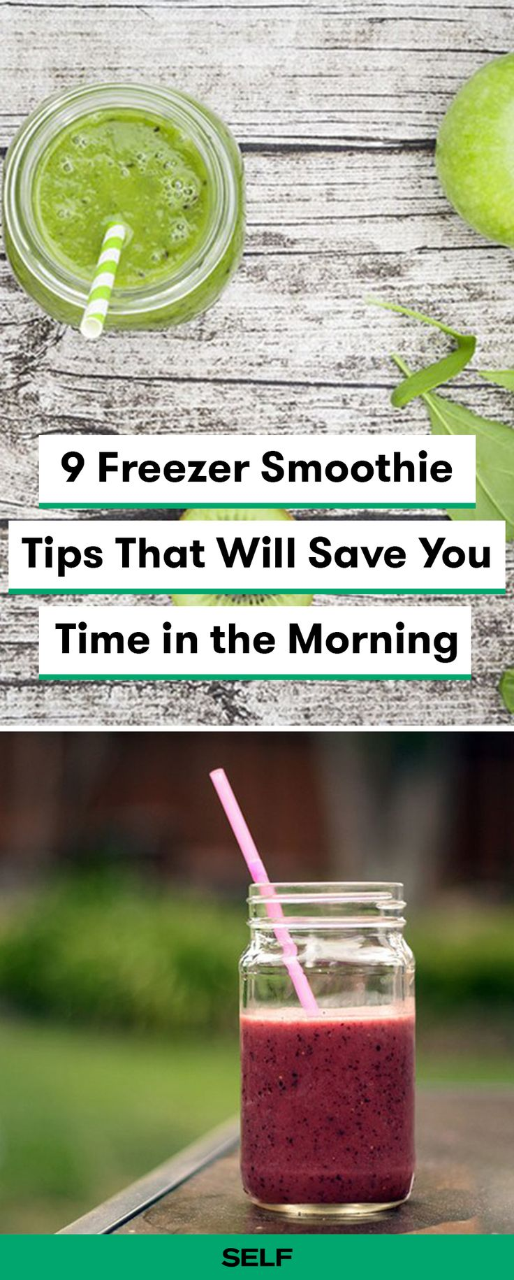 Freezer smoothie packs can do wonders for your mornings. Follow these smoothie hacks for quick and easy smoothie prep in the mornings to help with portion control and clean eating.