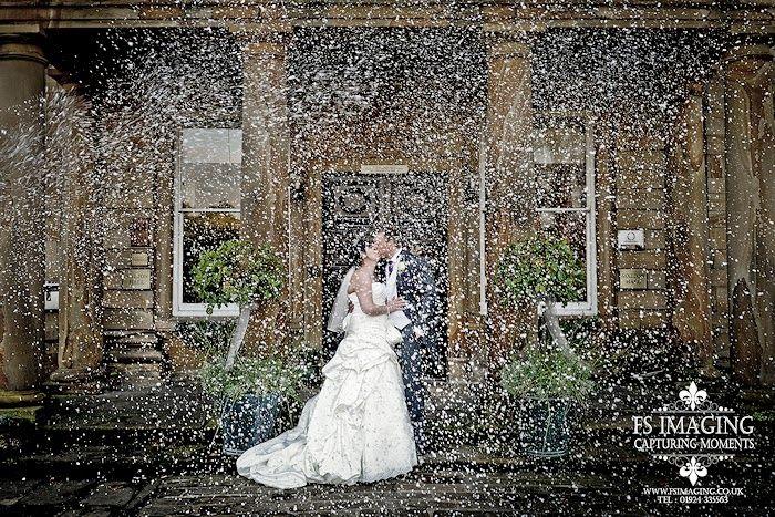 Photo taken using our Snow Machine!