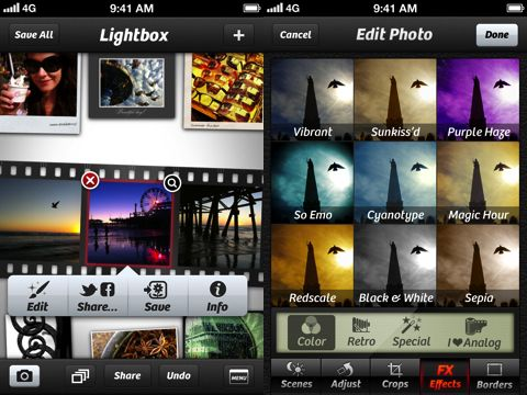 Camera+ is a next generation iPhone photography app, that knocks Snapseed, Luminance, Hipstamatic, & Instagram back a few notches