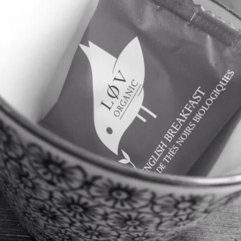 Fantastic tea from Løv- www.stjernevn.blogspot.no