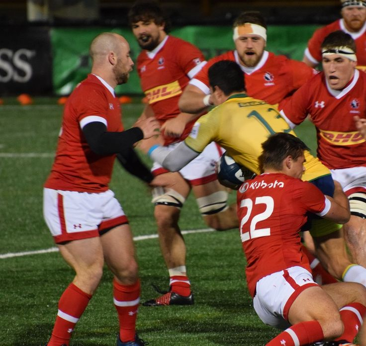 Canadian rugby player makes his tackle during ARC game against Brazil. #rugbyfreak #sofreaky #loverugby #rugby #rugbycanada #teambrazil #teamcanada #ARC