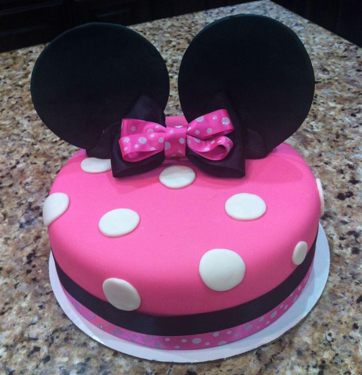 Минни Маус Fondant торт