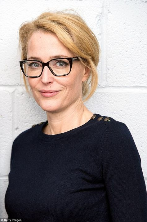 Speaking out: Gillian Anderson, 48, showed up to discuss her new self-help tome at a Tribe...