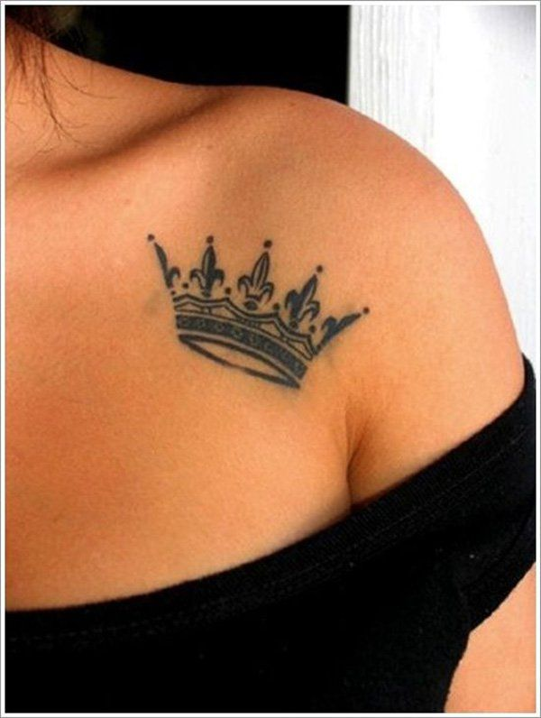 Place Your Crown - Bearing a plethora of meanings, crown tattoos can be either large, covering an entire back, or tiny, just a mark on the wrist or ankle. Virtuosity of tattoo artists can be identified in both small and big crown tattoos, although the smaller ones do not allow for many details. Despite of basic shape, small tattoos are chosen frequently, placed on the back of the neck, on wrists, ankles and other significant or suggestive skin portions. Occasionally, crown tattoos are done…