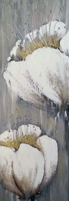 Original Textured Abstract Contemporary abstract by YueJinArt