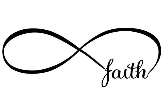 Infinity Symbol with Faith