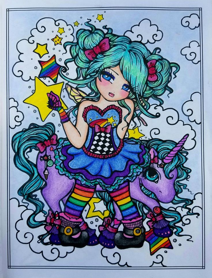 197 best Finished Coloring Pages