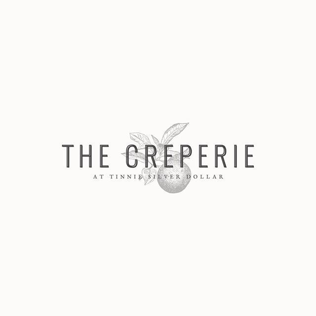 We still have heart-eyes over this beautiful design for The Creperie at Tinnie Silver Dollar. We love the classic font styles and textures so much! To be honest, these classic styles and textures are getting us so excited...