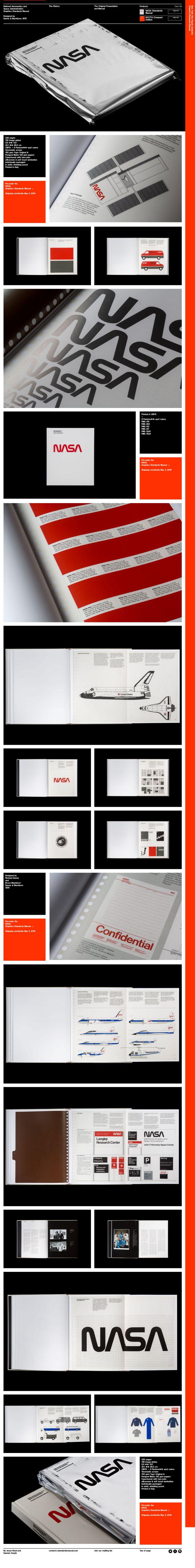 branding / Identity | Nasa Design Manual — standardsmanual.com