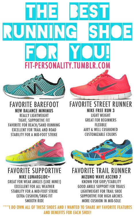 Here's where to find them (some of them are on SALE!):  New Balance Minimus ($120 $40!)  Nike Free Run 3  Nike LundarGlide+  Mizuno Wave Ascend 7