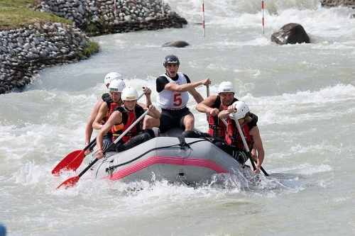 rafting in cunovo
