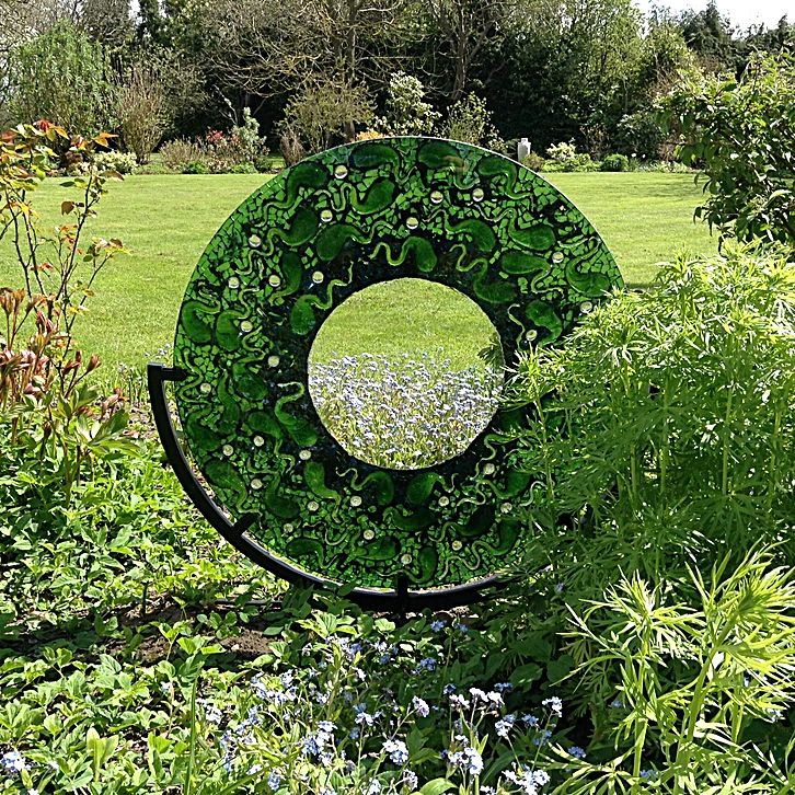 Katie Green Mosaics |pond of life