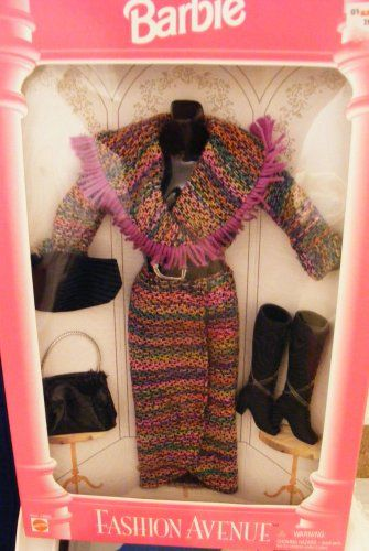 Barbie Fashion Avenue Outfit   #barbiecollector