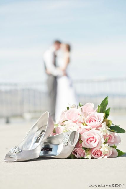 #wedding #photography #shoes #bouquet