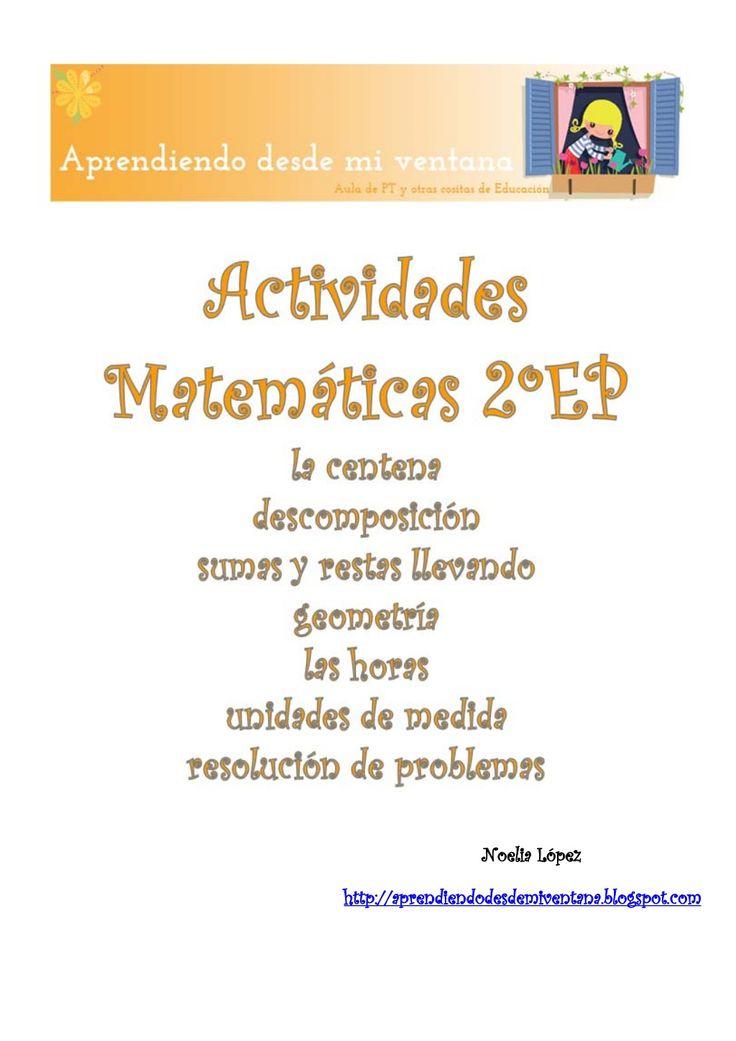 Actividades de matemáticas 2º educación primaria by NoeliaLI via slideshare