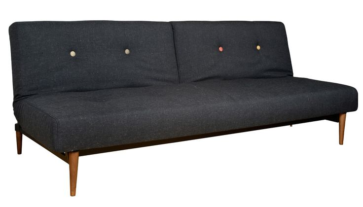 Paying homage to iconic Scandinavian furniture, the Knap combines modern functionality with Mid-century form. Designed in Denmark by Per Weiss, this versatile sofa bed is split into two adjustable parts that allow for a variety of positions including an upright sofa, gentle recline and flat daybed.
