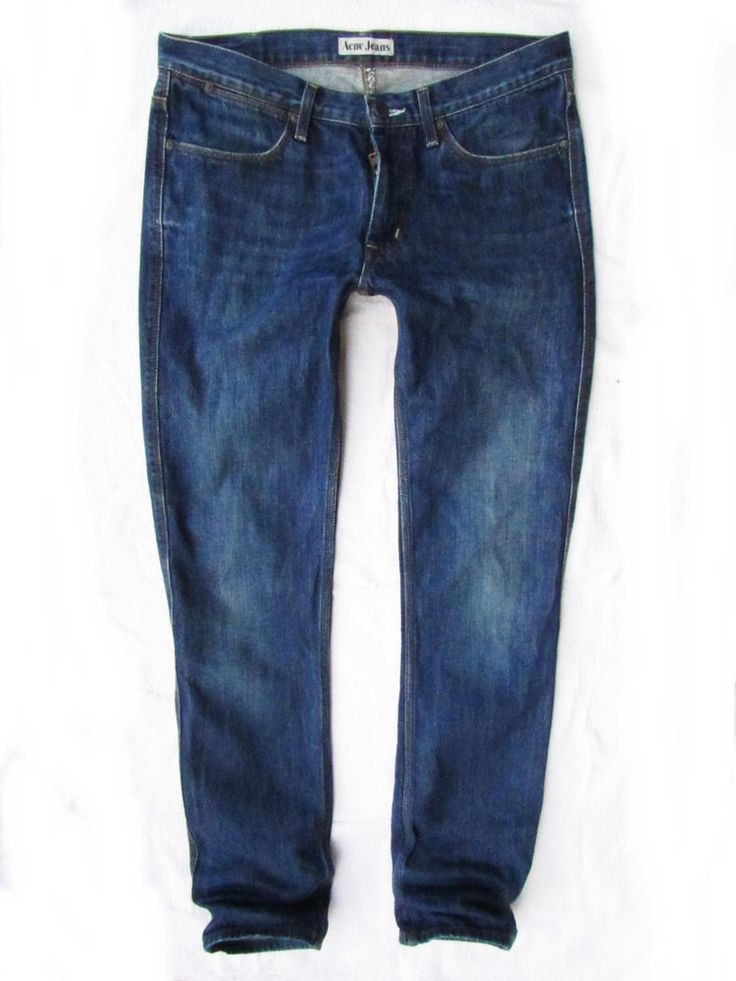 mens jeans Acne model Max Producer  W31  L34 #AcneJeans #ClassicStraightLeg