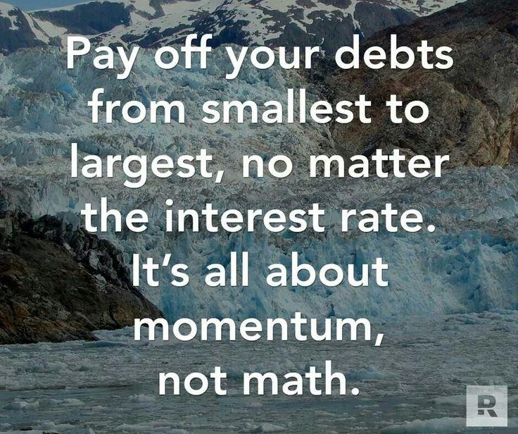 Dave Ramsey principle on debt payoff